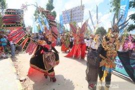 Karnaval Budaya Nusantara Warnai Kemeriahan HUT Kutim