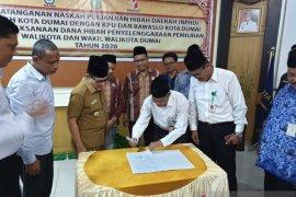 Kemendagri minta Pemkab Inhu segera tandatangani NPHD Pilkada 2020