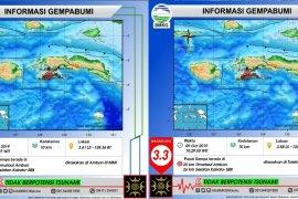 Ambon dilanda gempa bumi magnitudo 3,4