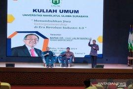 Kuliah umum Unusa, Alim Markus dorong mahasiswa berani berwirausaha