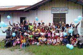 Polda Papua coba pulihkan trauma kepada guru dan anak-anak