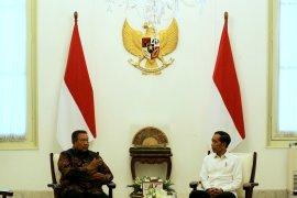 Jokowi terima silaturahmi SBY