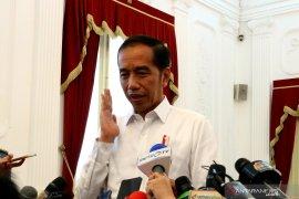 Presiden jenguk Wiranto di RSPAD