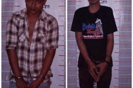 Polisi Pangkalan Brandan ringkus dua pemilik-pengedar narkotika