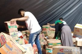 Posko tanggap darurat pascagempa desa Liang kekurangan terpal
