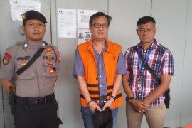 KPK eksekusi pengusaha Bernard Hanafi Kalalo ke Lapas Klas I Tangerang