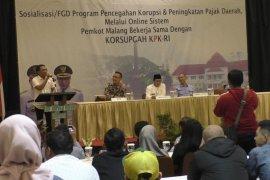 Derap langkah BP2D Kota Malang bersama KPK