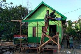 Kodim Tanbu bedah rumah keluarga kurang mampu