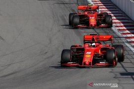 Ferrari tak ingin ulangi kekacauan team order seperti di Rusia