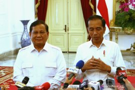 Jokowi dan Prabowo bahas stabilitas keamanan  dan politik
