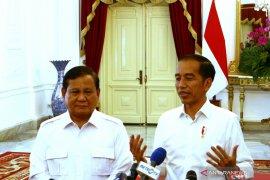 Jokowi dan Prabowo bertemu bahas potensi koalisi