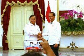 Presiden Jokowi ungkap hubungannya dengan Prabowo sangat mesra