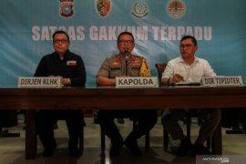 Polda Riau tetapkan 70 tersangka karhutla termasuk korporasi