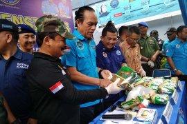 Sipir penjara dan istrinya terlibat penyelundupan 48 kilogram sabu-sabu di Aceh Timur