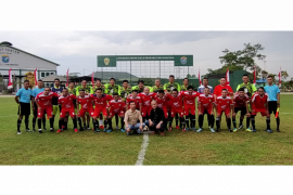 DPRD Sambas FC taklukan Jurnalis FC 4-0