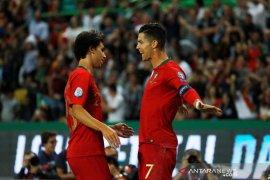 Andil Ronaldo bagi Portugal bungkam Luxembourg
