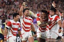 Piala Dunia Rugby  - Jepang tembus perempat final Piala Dunia Rugby untuk pertama kalinya
