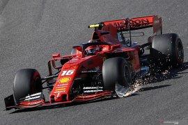 Gagal finis di GP Jepang, Verstappen salahkan Leclerc