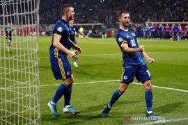 Kualifikasi Piala Eropa 2020: Bosnia jaga peluang lolos, Liechtenstein raih poin perdana