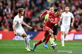 Timnas Denmark atasi Swiss 1-0
