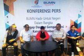 BUMN salurkan Rp3,04 miliar untuk  Maluku