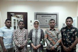 Pemuda Seram Alifuru temui anggota DPR RI bahas bantuan gempa di Maluku