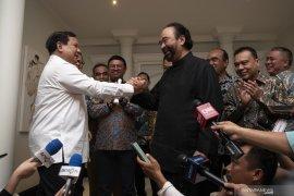 Tiga kesepakatan dari pertemuan Prabowo-Surya Paloh