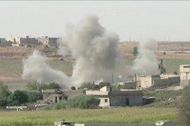 Serangan udara Turki di Kota Ras al Ain Suriah tewaskan 14 orang