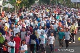 15.000 warga Pulau Bangka antusias ikuti jalan sehat PRB