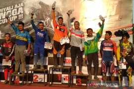Khoiful Mukhib juarai Indonesian Downhill 2019