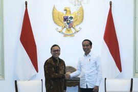 Presiden bertemu Ketum PAN Zulkifli Hasan