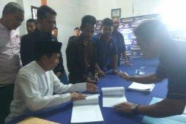 Kembali maju di Pilkada 2020, Bupati Bangka Tengah mendaftar di Nasdem