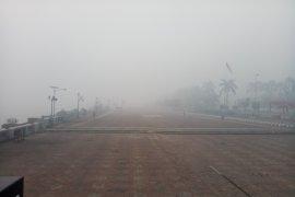 BMKG sebut kabut asap Senin pagi di Palembang paling ekstrim