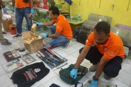 Densus 88 amankan terduga teroris  di Indramayu