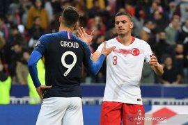 Turki dan Prancis puncaki grup G kualifikasi Piala Eropa 2020