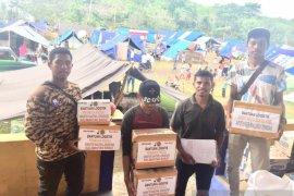 Pramuka Haruku salurkan bantuan kepada pengungsi gempa