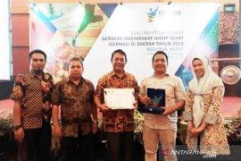 Bangka Belitung terima penghargaan konsumsi pangan sehat terbaik