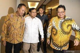 Golkar sebut peluang Gerindra masuk koalisi kewenangan Presiden