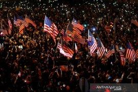 Presiden Trump dukung pemrotes Hong Kong