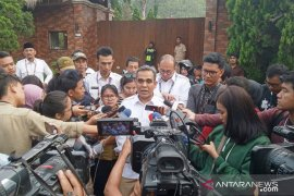 Ahmad Muzani ingin Prabowo bersama Jokowi