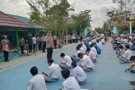 "Polres Bangka gelar ""Police Goes To School"" di SMK Muhammadiyah (Video)"