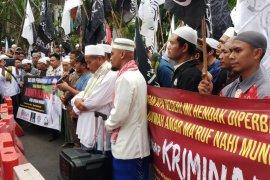 Sidang putusan terdakwa Sugi Nur Raharja di PN Surabaya ditunda