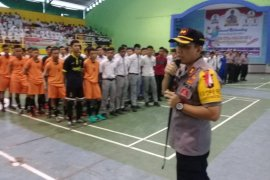 Polres Binjai gelar Turnamen Futsal Piala Kapolres Cup