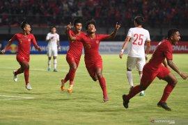 Timnas U-19 Indonesia taklukkan kesebelasan China 3-1