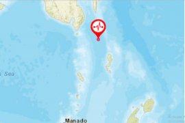 Gempa bumi magnitudo 6,9 landa Melonguane Talaud