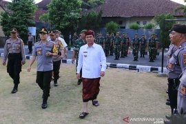 Bupati-Kapolres Klungkung pimpin apel kesiapan jelang pelantikan Presiden-Wapres