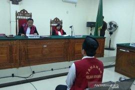 Terdakwa pembunuh istri di Tanjung Jaya divonis 15 tahun penjara