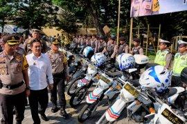 450 personel gabungan di Sidoarjo siap jaga pelantikan Presiden