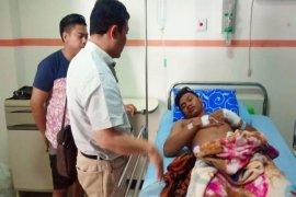 Polisi tembak warga karena diserang dengan gunting
