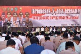 Munajat Forkopimda Sidoarjo  untuk Indonesia damai